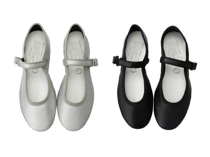 【chausser/ショセ】の【TRAVEL SHOES by chausser】メリージェーンフラットシューズ(レイン対応) 【シューズ・靴】おすすめ!人気、トレンド・レディースファッションの通販 おすすめ人気トレンドファッション通販アイテム 人気、トレンドファッション・服の通販 founy(ファニー) ファッション Fashion レディースファッション WOMEN コレクション シューズ フラット レイン |ID:crp329100000032975