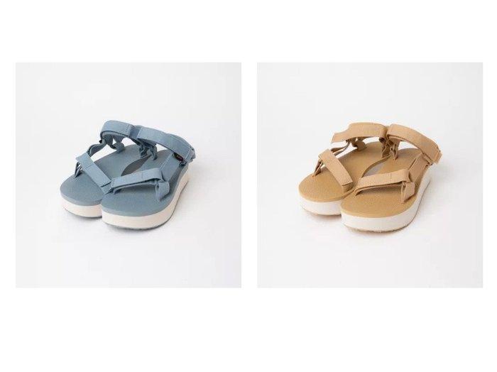 【Piche Abahouse/ピシェ アバハウス】のFLATFORM UNIVERSAL フラットフォームユニバーサル 【シューズ・靴】おすすめ!人気、トレンド・レディースファッションの通販 おすすめ人気トレンドファッション通販アイテム インテリア・キッズ・メンズ・レディースファッション・服の通販 founy(ファニー) https://founy.com/ ファッション Fashion レディースファッション WOMEN 厚底 軽量 サンダル シューズ スポーティ ハンド フェミニン フォーム フラット ラップ |ID:crp329100000032993