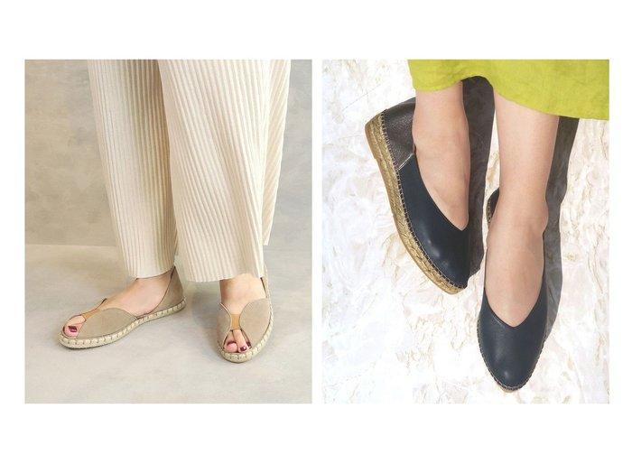 【BONTRE/ボントレ】の【ベルべナス】フロントエラスティックエスパ&【gaimo/ガイモ】の【ガイモ】Vカットバブーシュ 【シューズ・靴】おすすめ!人気、トレンド・レディースファッションの通販 おすすめファッション通販アイテム レディースファッション・服の通販 founy(ファニー)  ファッション Fashion レディースファッション WOMEN おすすめ Recommend サンダル シューズ スニーカー フロント 再入荷 Restock/Back in Stock/Re Arrival クッション ジュート ハンド 厚底 |ID:crp329100000033000
