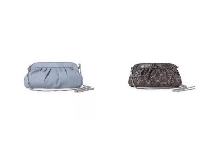【INED/イネド】の《SUPERIOR CLOSET》クラッチバッグ《DEL CONTE》&《SUPERIOR CLOSET》パイソンクラッチバッグ《DEL CONTE》 【バッグ・鞄】おすすめ!人気、トレンド・レディースファッションの通販 おすすめファッション通販アイテム レディースファッション・服の通販 founy(ファニー) ファッション Fashion レディースファッション WOMEN バッグ Bag イタリア カッティング クラッチ フォルム ラップ |ID:crp329100000033029