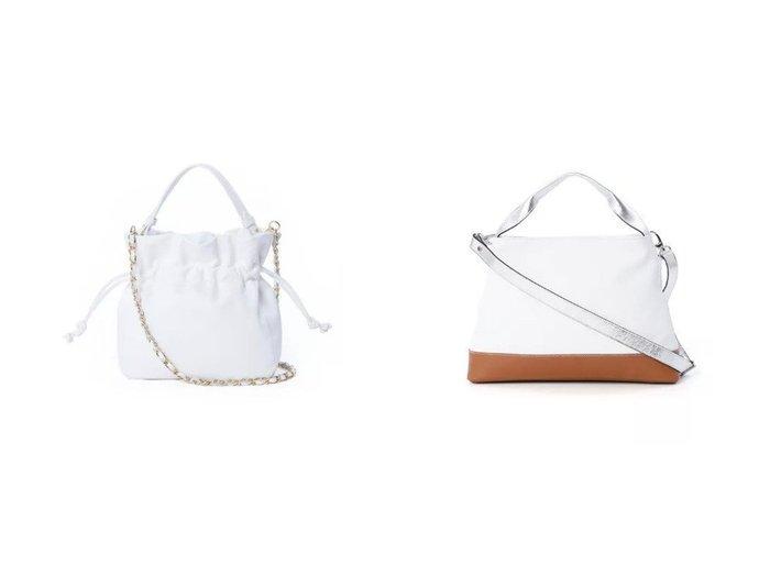 【INED/イネド】の《SUPERIOR CLOSET》スクエア巾着バッグ《MARCO BIANCHINI》&《SUPERIOR CLOSET》コンビカラーバッグ《DEL CONTE》 【バッグ・鞄】おすすめ!人気、トレンド・レディースファッションの通販 おすすめファッション通販アイテム レディースファッション・服の通販 founy(ファニー) ファッション Fashion レディースファッション WOMEN イタリア スクエア トレンド フェミニン 巾着 カッティング コンビ ショルダー シンプル |ID:crp329100000033030