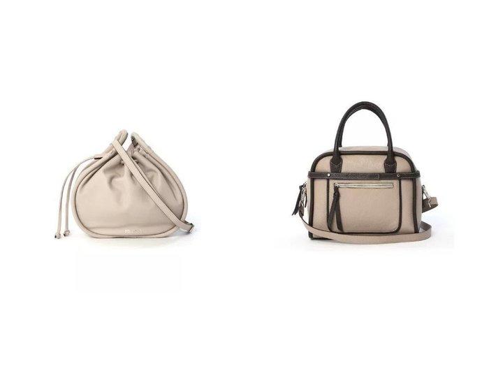 【INED/イネド】の《SUPERIOR CLOSET》ショルダー巾着バッグ《DEL CONTE》&《SUPERIOR CLOSET》コンパクトボストンバッグ《DEL CONTE》 【バッグ・鞄】おすすめ!人気、トレンド・レディースファッションの通販 おすすめファッション通販アイテム レディースファッション・服の通販 founy(ファニー) ファッション Fashion レディースファッション WOMEN イタリア カッティング ショルダー フォルム 巾着 コンパクト ボストンバッグ ラップ |ID:crp329100000033031