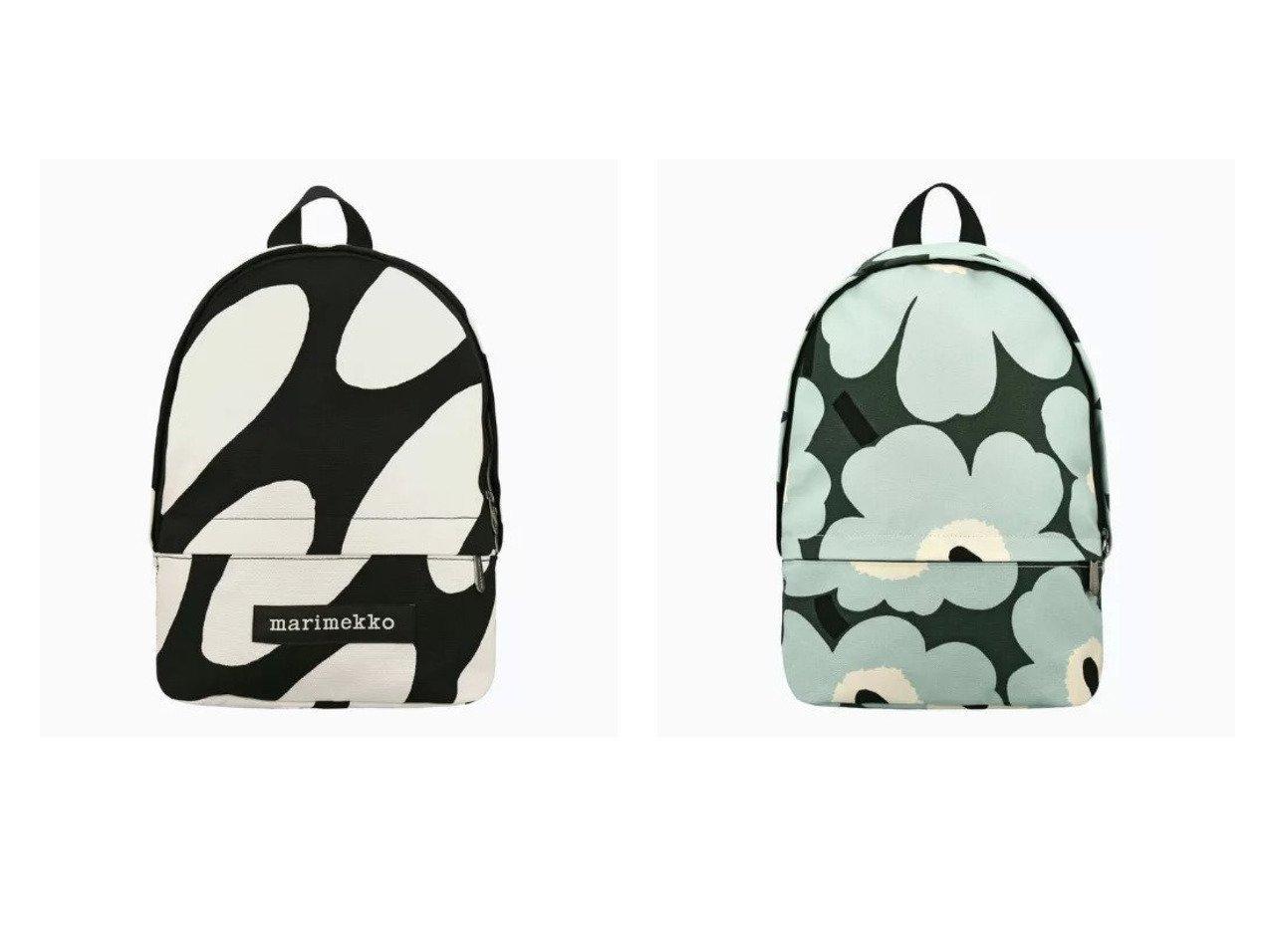 【marimekko/マリメッコ】のHiljaa Linssi バックパック&Enni Pieni Unikko 2 バックパック 【バッグ・鞄】おすすめ!人気、トレンド・レディースファッションの通販 おすすめで人気の流行・トレンド、ファッションの通販商品 メンズファッション・キッズファッション・インテリア・家具・レディースファッション・服の通販 founy(ファニー) https://founy.com/ ファッション Fashion レディースファッション WOMEN バッグ Bag コンパクト コンビ ショルダー スタイリッシュ フォルム ポケット モチーフ  ID:crp329100000033040