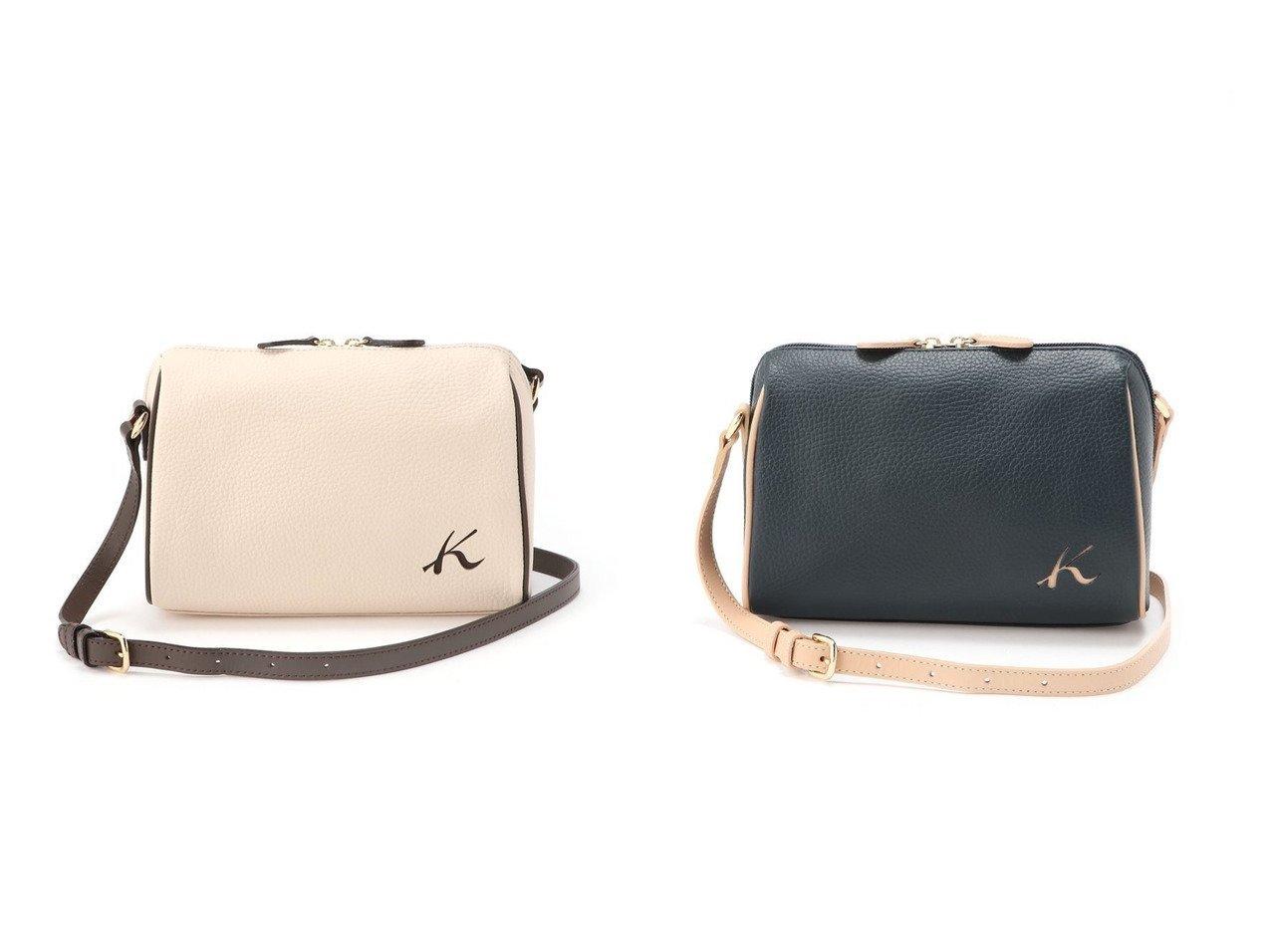 【Kitamura/キタムラ】のショルダーバッグ R-0613 【バッグ・鞄】おすすめ!人気、トレンド・レディースファッションの通販 おすすめで人気の流行・トレンド、ファッションの通販商品 メンズファッション・キッズファッション・インテリア・家具・レディースファッション・服の通販 founy(ファニー) https://founy.com/ ファッション Fashion レディースファッション WOMEN ダブル  ID:crp329100000033045