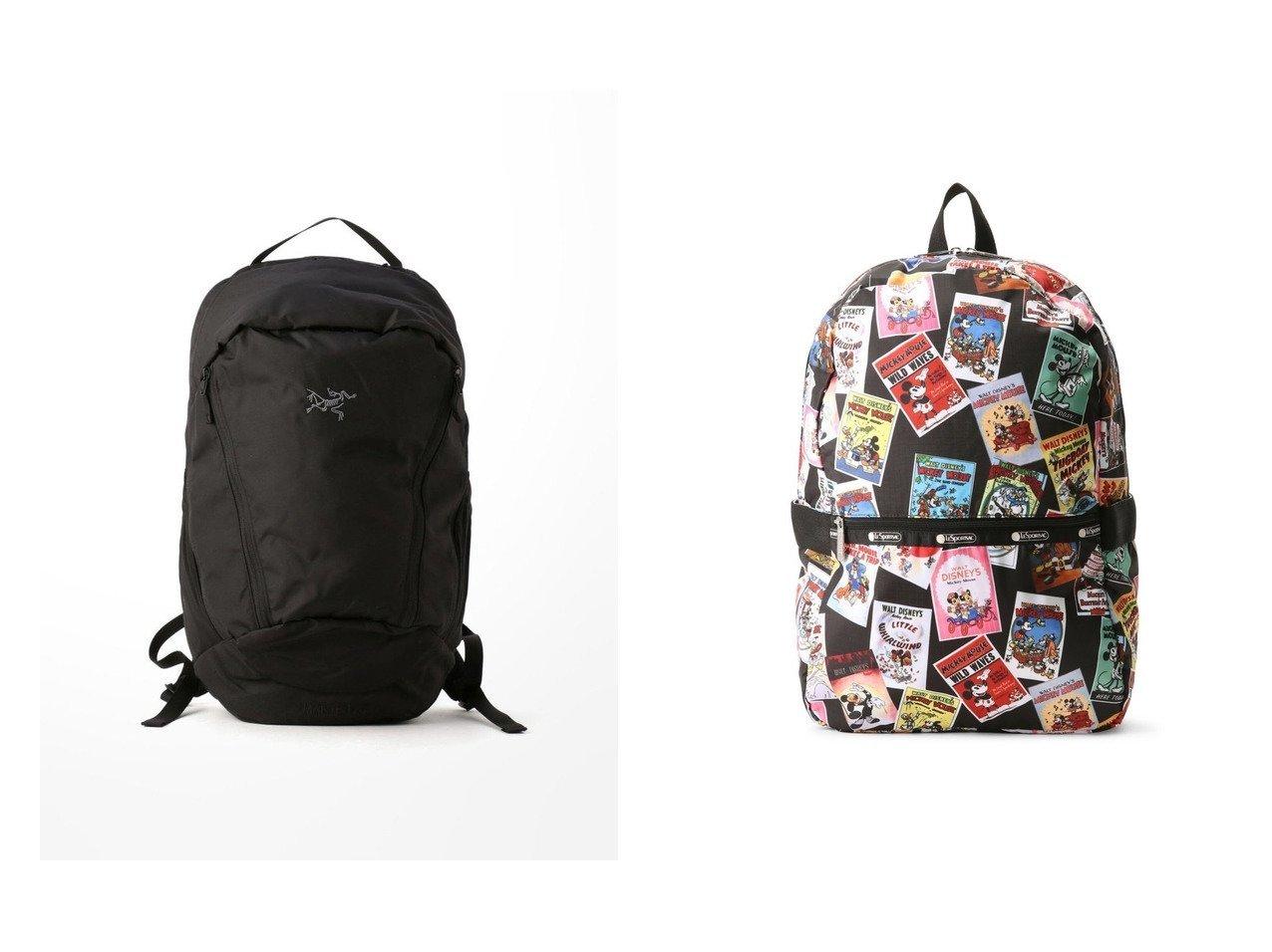 【LeSportsac/レスポートサック】の(レスポートサック)バックパック リュック 3504U047&【Bshop/ビショップ】の【ARC TERYX】MANTIS 26L BACKPACK 【バッグ・鞄】おすすめ!人気、トレンド・レディースファッションの通販 おすすめで人気の流行・トレンド、ファッションの通販商品 メンズファッション・キッズファッション・インテリア・家具・レディースファッション・服の通販 founy(ファニー) https://founy.com/ ファッション Fashion レディースファッション WOMEN バッグ Bag スタイリッシュ フレーム ポケット リュック 人気 アメリカン クラシカル クラシック コレクション ショート プリント メッシュ ヴィンテージ  ID:crp329100000033047