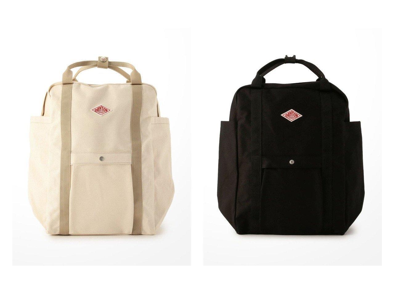 【Bshop/ビショップ】の【DANTON】2WAY キャンバスリュック SCV 【バッグ・鞄】おすすめ!人気、トレンド・レディースファッションの通販 おすすめで人気の流行・トレンド、ファッションの通販商品 メンズファッション・キッズファッション・インテリア・家具・レディースファッション・服の通販 founy(ファニー) https://founy.com/ ファッション Fashion レディースファッション WOMEN バッグ Bag アウトドア アクリル キャンバス コーティング ポケット リュック ワーク 定番 Standard  ID:crp329100000033049