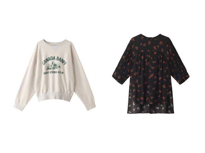 【Shinzone/シンゾーン】のフラワーギャザーブラウス&CANADIAN プルオーバー 【トップス・カットソー】おすすめ!人気、トレンド・レディースファッションの通販 おすすめファッション通販アイテム レディースファッション・服の通販 founy(ファニー) ファッション Fashion レディースファッション WOMEN トップス・カットソー Tops/Tshirt シャツ/ブラウス Shirts/Blouses パーカ Sweats ロング / Tシャツ T-Shirts プルオーバー Pullover スウェット Sweat カットソー Cut and Sewn スリット スリーブ デニム トレンド フラワー フレア ロング 再入荷 Restock/Back in Stock/Re Arrival おすすめ Recommend トレーナー フロント リラックス 定番 Standard |ID:crp329100000033197