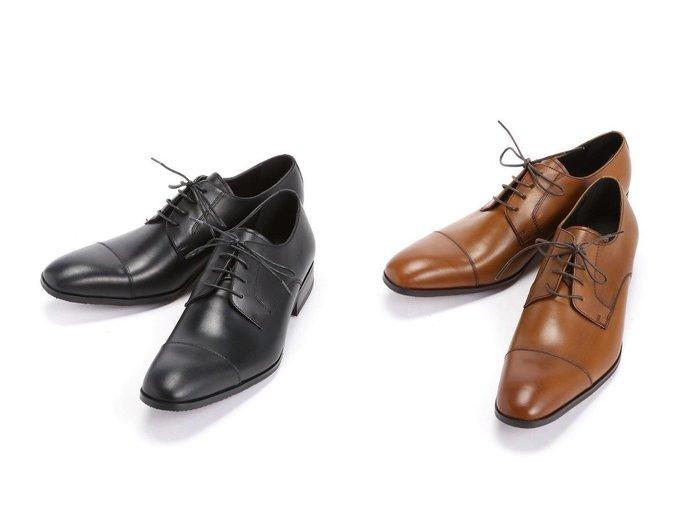 【evolution / MEN/エボリューション】のストレートチッブビジネスシューズ/304342 【MEN】おすすめ!人気トレンド・男性、メンズファッションの通販  おすすめファッション通販アイテム インテリア・キッズ・メンズ・レディースファッション・服の通販 founy(ファニー) https://founy.com/ ファッション Fashion メンズファッション MEN シューズ・靴 Shoes/Men シューズ ドレス |ID:crp329100000033549