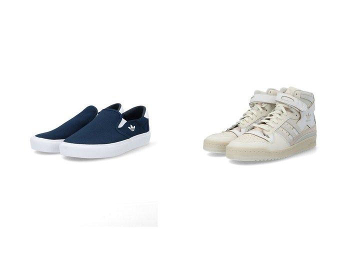【adidas Originals/アディダス オリジナルス】のコートラリー スリップ Court Rallye Slip アディダスオリジナルス&FORUM 84 HIGH 【シューズ・靴】おすすめ!人気、トレンド・レディースファッションの通販 おすすめファッション通販アイテム レディースファッション・服の通販 founy(ファニー) ファッション Fashion レディースファッション WOMEN アウター Coat Outerwear コート Coats キャンバス クラシック シューズ シンプル スニーカー スポーツ スリッポン ベーシック ミックス 再入荷 Restock/Back in Stock/Re Arrival NEW・新作・新着・新入荷 New Arrivals バスケット リュクス レース |ID:crp329100000033660