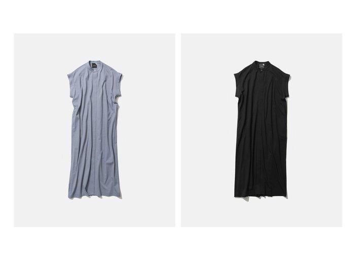 【ATON/エイトン】のSUVIN AIR SPINNING BAND COLLAR DRESS 【ワンピース・ドレス】おすすめ!人気、トレンド・レディースファッションの通販 おすすめ人気トレンドファッション通販アイテム 人気、トレンドファッション・服の通販 founy(ファニー) ファッション Fashion レディースファッション WOMEN ワンピース Dress ドレス Party Dresses 送料無料 Free Shipping インド インナー ジャージー ドレス フロント マキシ |ID:crp329100000033747