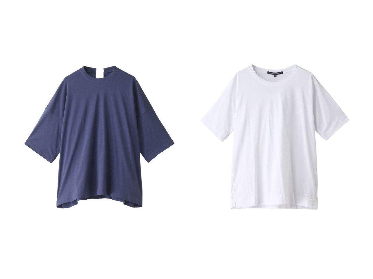 【heliopole/エリオポール】の【SOFIE D HOORE】BIGTシャツ&【SOFIE D HOORE】BASIC Tシャツ 【トップス・カットソー】おすすめ!人気、トレンド・レディースファッションの通販 おすすめで人気の流行・トレンド、ファッションの通販商品 メンズファッション・キッズファッション・インテリア・家具・レディースファッション・服の通販 founy(ファニー) https://founy.com/ ファッション Fashion レディースファッション WOMEN トップス・カットソー Tops/Tshirt シャツ/ブラウス Shirts/Blouses ロング / Tシャツ T-Shirts カットソー Cut and Sewn ショート シンプル スリーブ 半袖 |ID:crp329100000033760