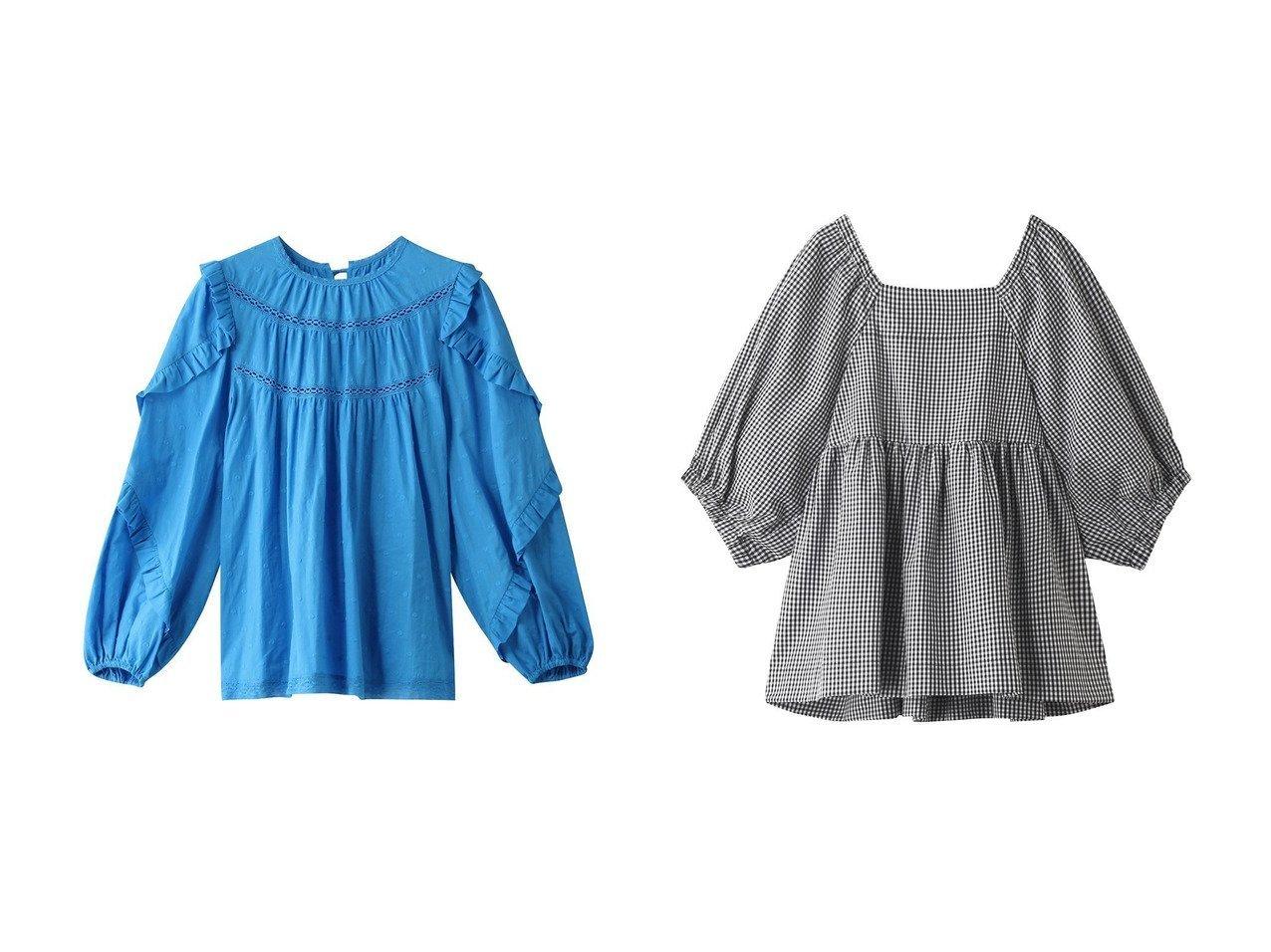 【MUVEIL/ミュベール】のドット刺繍ブラウス&【Shinzone/シンゾーン】のスクエアネックブラウス 【トップス・カットソー】おすすめ!人気、トレンド・レディースファッションの通販 おすすめで人気の流行・トレンド、ファッションの通販商品 メンズファッション・キッズファッション・インテリア・家具・レディースファッション・服の通販 founy(ファニー) https://founy.com/ ファッション Fashion レディースファッション WOMEN トップス・カットソー Tops/Tshirt シャツ/ブラウス Shirts/Blouses エスニック スリーブ ドット フリル ロング ショート スクエア デコルテ フェミニン リボン |ID:crp329100000033770