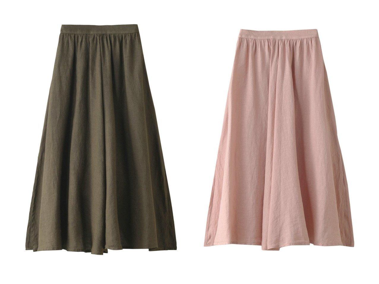 【120% lino/120パーセントリノ】のロングスカート&リネンロングスカート 【スカート】おすすめ!人気、トレンド・レディースファッションの通販  おすすめで人気の流行・トレンド、ファッションの通販商品 メンズファッション・キッズファッション・インテリア・家具・レディースファッション・服の通販 founy(ファニー) https://founy.com/ ファッション Fashion レディースファッション WOMEN スカート Skirt ロングスカート Long Skirt S/S・春夏 SS・Spring/Summer シンプル リネン ロング 春 Spring |ID:crp329100000033934