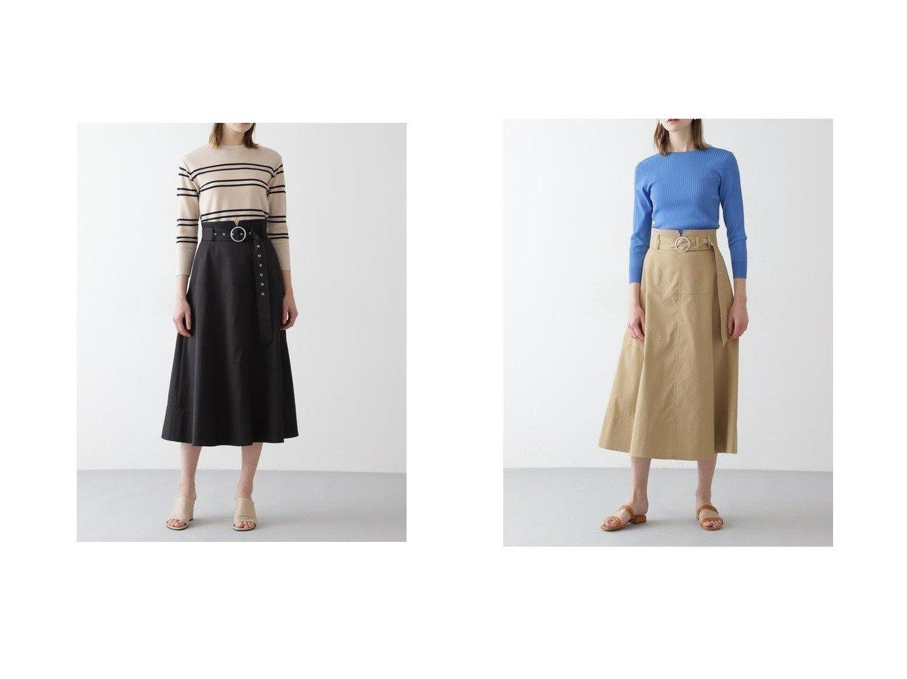 【BOSCH/ボッシュ】のベルト付きチノフレアスカート 【スカート】おすすめ!人気、トレンド・レディースファッションの通販  おすすめで人気の流行・トレンド、ファッションの通販商品 メンズファッション・キッズファッション・インテリア・家具・レディースファッション・服の通販 founy(ファニー) https://founy.com/ ファッション Fashion レディースファッション WOMEN スカート Skirt Aライン/フレアスカート Flared A-Line Skirts ベルト Belts NEW・新作・新着・新入荷 New Arrivals ギャザー スタンダード タンブラー ツイル フレア |ID:crp329100000033936