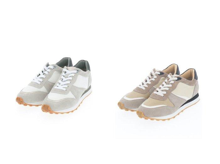 【MODE ET JACOMO/モード エ ジャコモ】の【Mode et jacomo】【インソール入り】レースアップスニーカー 【シューズ・靴】おすすめ!人気、トレンド・レディースファッションの通販   おすすめファッション通販アイテム レディースファッション・服の通販 founy(ファニー) ファッション Fashion レディースファッション WOMEN インソール クッション シューズ シンプル スタイリッシュ スニーカー スパンコール モチーフ 厚底 定番 Standard |ID:crp329100000033958