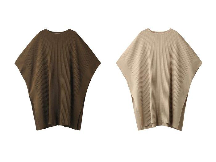 【LE PHIL/ル フィル】のファインポンチョ 【トップス・カットソー】おすすめ!人気、トレンド・レディースファッションの通販  おすすめ人気トレンドファッション通販アイテム インテリア・キッズ・メンズ・レディースファッション・服の通販 founy(ファニー) https://founy.com/ ファッション Fashion レディースファッション WOMEN アウター Coat Outerwear ジャケット Jackets ブルゾン Blouson/Jackets ポンチョ Ponchos シンプル ジャケット ストライプ スリット ブルゾン ポンチョ 再入荷 Restock/Back in Stock/Re Arrival |ID:crp329100000034122