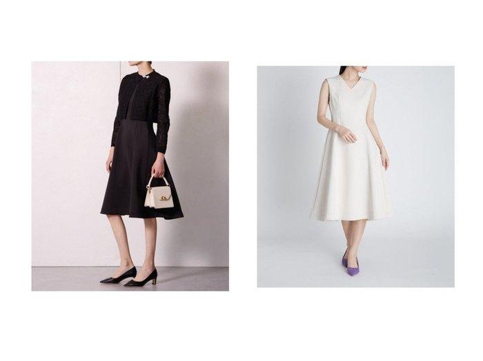 【CELFORD/セルフォード】のボンディングフィット&フレアOP 【ワンピース・ドレス】おすすめ!人気、トレンド・レディースファッションの通販 おすすめファッション通販アイテム インテリア・キッズ・メンズ・レディースファッション・服の通販 founy(ファニー) https://founy.com/ ファッション Fashion レディースファッション WOMEN ワンピース Dress カーディガン ジャージー スマート デコルテ フィット フレア ボンディング レース おすすめ Recommend |ID:crp329100000034250