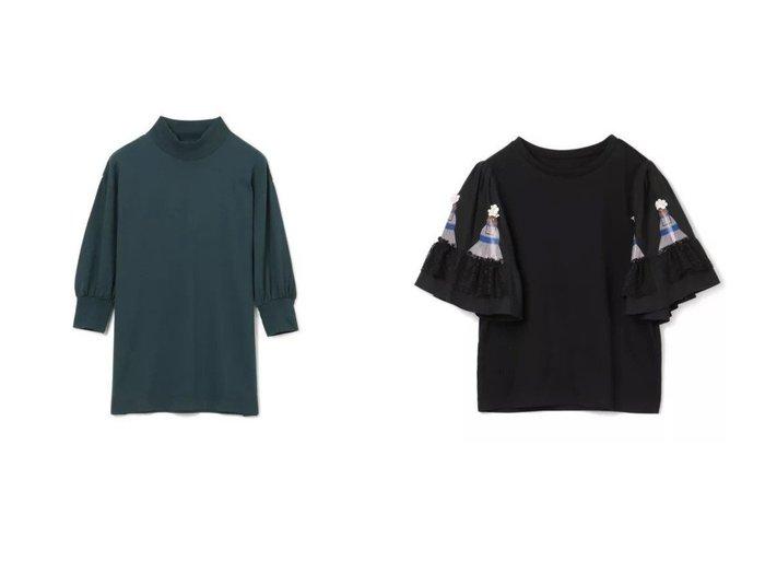 【MUVEIL/ミュベール】のドールプリントカットソー&【LOEFF/ロエフ】のLF SVN CTN GAZ SLV T 【トップス・カットソー】おすすめ!人気、トレンド・レディースファッションの通販 おすすめファッション通販アイテム レディースファッション・服の通販 founy(ファニー) ファッション Fashion レディースファッション WOMEN トップス・カットソー Tops/Tshirt シャツ/ブラウス Shirts/Blouses ロング / Tシャツ T-Shirts カットソー Cut and Sewn 2021年 2021 2021春夏・S/S SS/Spring/Summer/2021 S/S・春夏 SS・Spring/Summer カットソー ギャザー スリーブ フォーマル モックネック 今季 洗える |ID:crp329100000034307