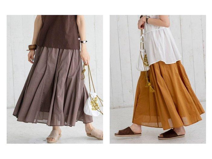 【COEN/コーエン】のコットンボイルマキシギャザーフレアスカート# 【プチプライス】おすすめ!人気トレンド・ファッション通販  おすすめファッション通販アイテム レディースファッション・服の通販 founy(ファニー) ファッション Fashion レディースファッション WOMEN スカート Skirt Aライン/フレアスカート Flared A-Line Skirts プリーツスカート Pleated Skirts ギャザー シンプル トレンド フェミニン プリーツ ポケット リゾート 2021年 2021 S/S・春夏 SS・Spring/Summer 2021春夏・S/S SS/Spring/Summer/2021 おすすめ Recommend |ID:crp329100000034356