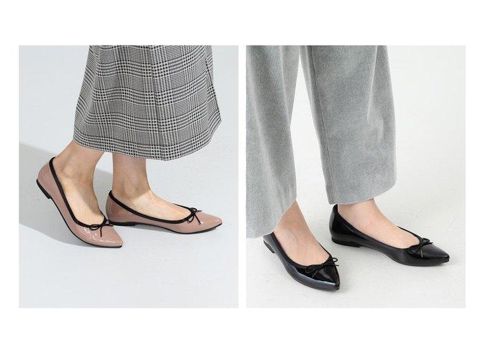 【Ray BEAMS/レイ ビームス】のポインテッド バレエシューズ 【シューズ・靴】おすすめ!人気、トレンド・レディースファッションの通販  おすすめ人気トレンドファッション通販アイテム インテリア・キッズ・メンズ・レディースファッション・服の通販 founy(ファニー) https://founy.com/ ファッション Fashion レディースファッション WOMEN インソール エナメル クッション シューズ バランス バレエ パイピング フラット ポインテッド リボン 人気 再入荷 Restock/Back in Stock/Re Arrival |ID:crp329100000034404