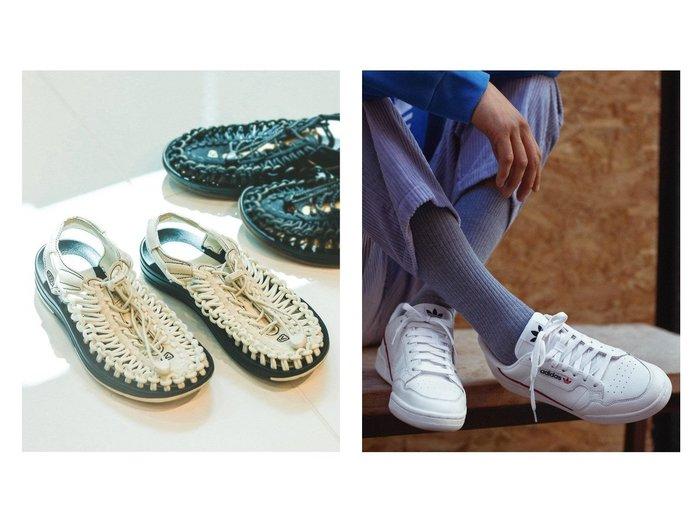 【adidas Originals/アディダス オリジナルス】のコンチネンタル 80 CONTINENTAL 80 アディダスオリジナルス&【JOURNAL STANDARD/ジャーナルスタンダード】の【キーン】 UNEEK SMU JOURNAL STANDARD別注サンダル 【シューズ・靴】おすすめ!人気、トレンド・レディースファッションの通販  おすすめファッション通販アイテム インテリア・キッズ・メンズ・レディースファッション・服の通販 founy(ファニー) https://founy.com/ ファッション Fashion レディースファッション WOMEN クラシック シューズ ストライプ スニーカー スリッポン パフォーマンス フレンチ ライニング ラバー レギュラー レース 軽量 NEW・新作・新着・新入荷 New Arrivals 2021年 2021 2021春夏・S/S SS/Spring/Summer/2021 S/S・春夏 SS・Spring/Summer カリフォルニア サンダル 再入荷 Restock/Back in Stock/Re Arrival 別注 春 Spring |ID:crp329100000034414