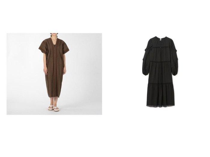 【Pheeta/フィータ】のDress(Kate)&【MUVEIL/ミュベール】のドット刺繍ワンピース 【ワンピース・ドレス】おすすめ!人気、トレンド・レディースファッションの通販   おすすめファッション通販アイテム レディースファッション・服の通販 founy(ファニー) ファッション Fashion レディースファッション WOMEN ワンピース Dress ドレス Party Dresses 2021年 2021 2021春夏・S/S SS/Spring/Summer/2021 S/S・春夏 SS・Spring/Summer インナー キャミソール ギャザー スリーブ ドット フェミニン フリル 洗える 長袖 インド ドレス レース 半袖 |ID:crp329100000034537