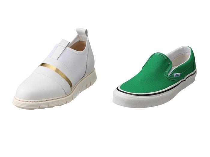 【LucaGrossi/ルカグロッシ】のエラスティックスリッポン&【JET/ジェット】の【VANS】Classic Slip-On9 【シューズ・靴】おすすめ!人気、トレンド・レディースファッションの通販  おすすめファッション通販アイテム インテリア・キッズ・メンズ・レディースファッション・服の通販 founy(ファニー) https://founy.com/ ファッション Fashion レディースファッション WOMEN コンビ シューズ スリッポン デニム フラット メッシュ |ID:crp329100000034613