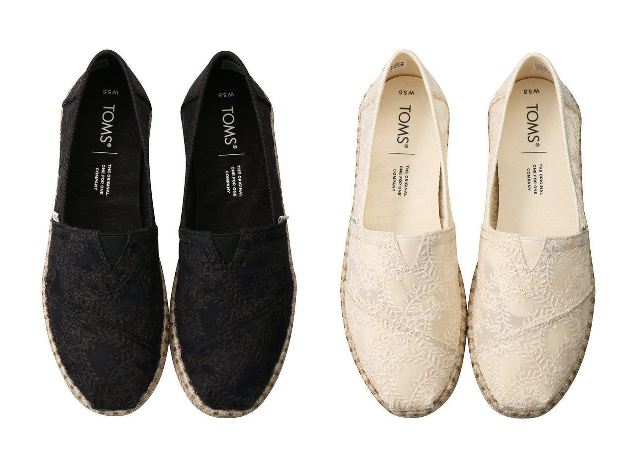 【JET/ジェット】の【TOMS】ブラックハイビスカス フローラルレース アルパルガータ ロープ&【TOMS】ナチュラルハイビスカス フローラルレース アルパルガータ ロープ 【シューズ・靴】おすすめ!人気、トレンド・レディースファッションの通販  おすすめで人気の流行・トレンド、ファッションの通販商品 メンズファッション・キッズファッション・インテリア・家具・レディースファッション・服の通販 founy(ファニー) https://founy.com/ ファッション Fashion レディースファッション WOMEN インソール クッション シューズ スリッポン トラベル フラット レース |ID:crp329100000034614