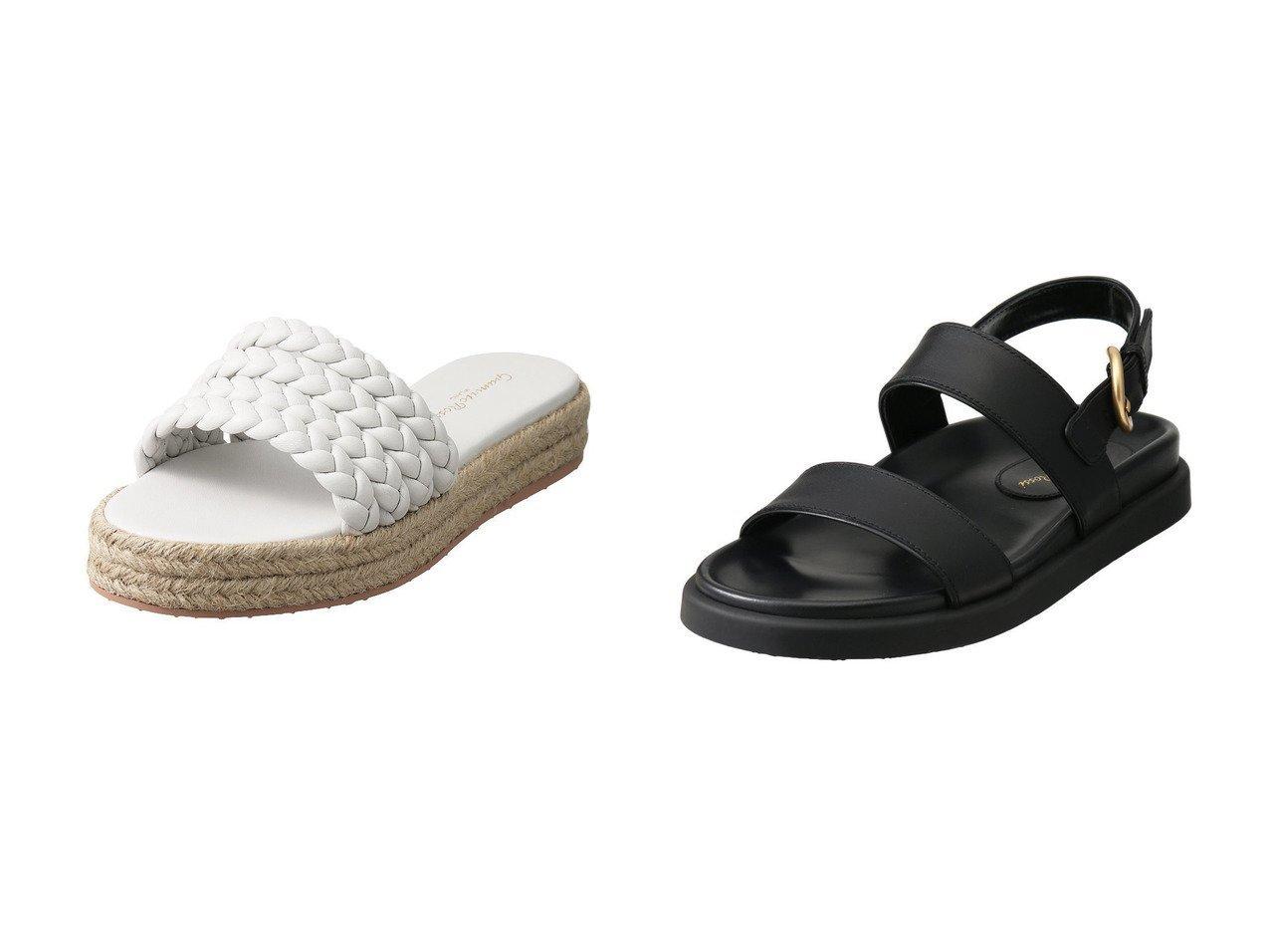 【GIANVITO ROSSI/ジャンビト ロッシ】のMARBELLA エスパドリーユサンダル&BILBAO ベルテッドサンダル 【シューズ・靴】おすすめ!人気、トレンド・レディースファッションの通販  おすすめで人気の流行・トレンド、ファッションの通販商品 メンズファッション・キッズファッション・インテリア・家具・レディースファッション・服の通販 founy(ファニー) https://founy.com/ ファッション Fashion レディースファッション WOMEN おすすめ Recommend サンダル バランス リゾート トレンド |ID:crp329100000034620