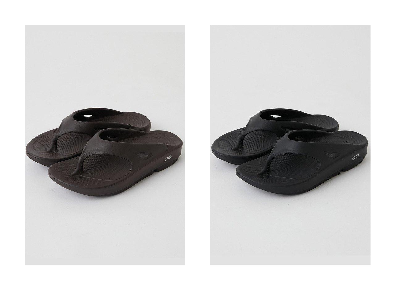 【GALLARDAGALANTE/ガリャルダガランテ】の【OOFOS】リカバリーサンダル 【シューズ・靴】おすすめ!人気、トレンド・レディースファッションの通販  おすすめで人気の流行・トレンド、ファッションの通販商品 メンズファッション・キッズファッション・インテリア・家具・レディースファッション・服の通販 founy(ファニー) https://founy.com/ ファッション Fashion レディースファッション WOMEN サンダル シューズ スポーツ トレーナー |ID:crp329100000034621