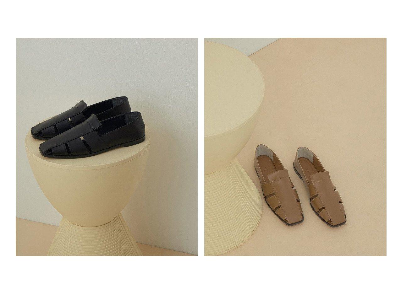 【ADAM ET ROPE'/アダム エ ロペ】のレザーグルカバブーシュ 【シューズ・靴】おすすめ!人気、トレンド・レディースファッションの通販  おすすめで人気の流行・トレンド、ファッションの通販商品 メンズファッション・キッズファッション・インテリア・家具・レディースファッション・服の通販 founy(ファニー) https://founy.com/ ファッション Fashion レディースファッション WOMEN 2021年 2021 2021春夏・S/S SS/Spring/Summer/2021 S/S・春夏 SS・Spring/Summer おすすめ Recommend シューズ スタイリッシュ スリット デニム トレンド フラット マニッシュ 再入荷 Restock/Back in Stock/Re Arrival 春 Spring |ID:crp329100000034622