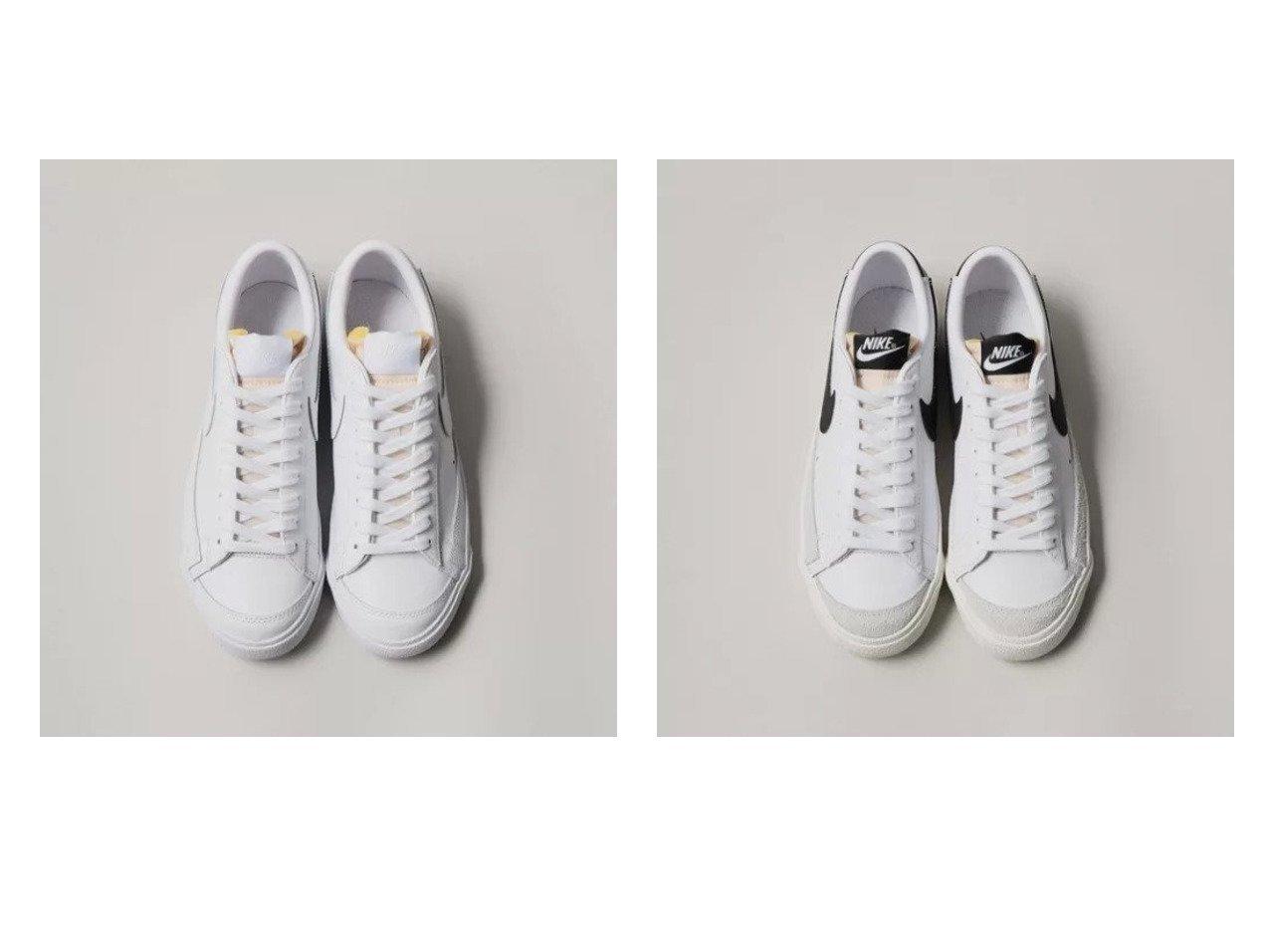 【Odette e Odile/オデット エ オディール】のNIKE ブレーザーLow77 【シューズ・靴】おすすめ!人気、トレンド・レディースファッションの通販  おすすめで人気の流行・トレンド、ファッションの通販商品 メンズファッション・キッズファッション・インテリア・家具・レディースファッション・服の通販 founy(ファニー) https://founy.com/ ファッション Fashion レディースファッション WOMEN シューズ シンプル スニーカー |ID:crp329100000034623