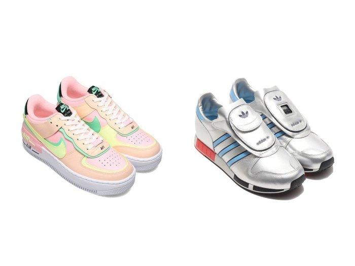 【adidas/アディダス】のadidas MICROPACER&【NIKE/ナイキ】のNIKE W AF1 SHADOW 【シューズ・靴】おすすめ!人気、トレンド・レディースファッションの通販  おすすめファッション通販アイテム レディースファッション・服の通販 founy(ファニー) ファッション Fashion レディースファッション WOMEN NEW・新作・新着・新入荷 New Arrivals クラシック シューズ スニーカー スリッポン |ID:crp329100000034626
