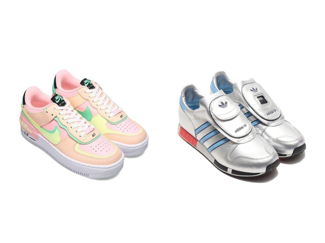 【adidas/アディダス】のadidas MICROPACER&【NIKE/ナイキ】のNIKE W AF1 SHADOW 【シューズ・靴】おすすめ!人気、トレンド・レディースファッションの通販  おすすめで人気の流行・トレンド、ファッションの通販商品 メンズファッション・キッズファッション・インテリア・家具・レディースファッション・服の通販 founy(ファニー) https://founy.com/ ファッション Fashion レディースファッション WOMEN NEW・新作・新着・新入荷 New Arrivals クラシック シューズ スニーカー スリッポン |ID:crp329100000034626