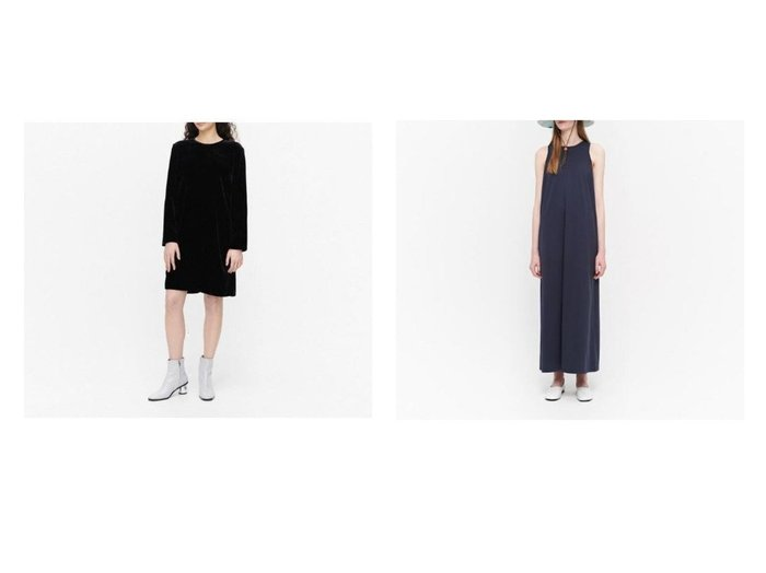 【marimekko/マリメッコ】のKumpare Solid ワンピース&Huilata ワンピース 【ワンピース・ドレス】おすすめ!人気、トレンド・レディースファッションの通販  おすすめファッション通販アイテム レディースファッション・服の通販 founy(ファニー)  ファッション Fashion レディースファッション WOMEN ワンピース Dress シンプル スリット リボン ワンポイント エレガント ベロア |ID:crp329100000034681