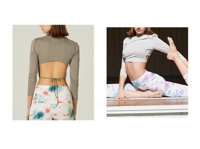 【Women's Health/ウィメンズヘルス】のバックオープントップス【Style Boat Market】 【トップス・カットソー】おすすめ!人気、トレンド・レディースファッションの通販 おすすめファッション通販アイテム インテリア・キッズ・メンズ・レディースファッション・服の通販 founy(ファニー) https://founy.com/ ファッション Fashion レディースファッション WOMEN トップス・カットソー Tops/Tshirt スポーツウェア Sportswear スポーツ トップス Tops おすすめ Recommend ショート スポーツ フィット レギンス |ID:crp329100000034711