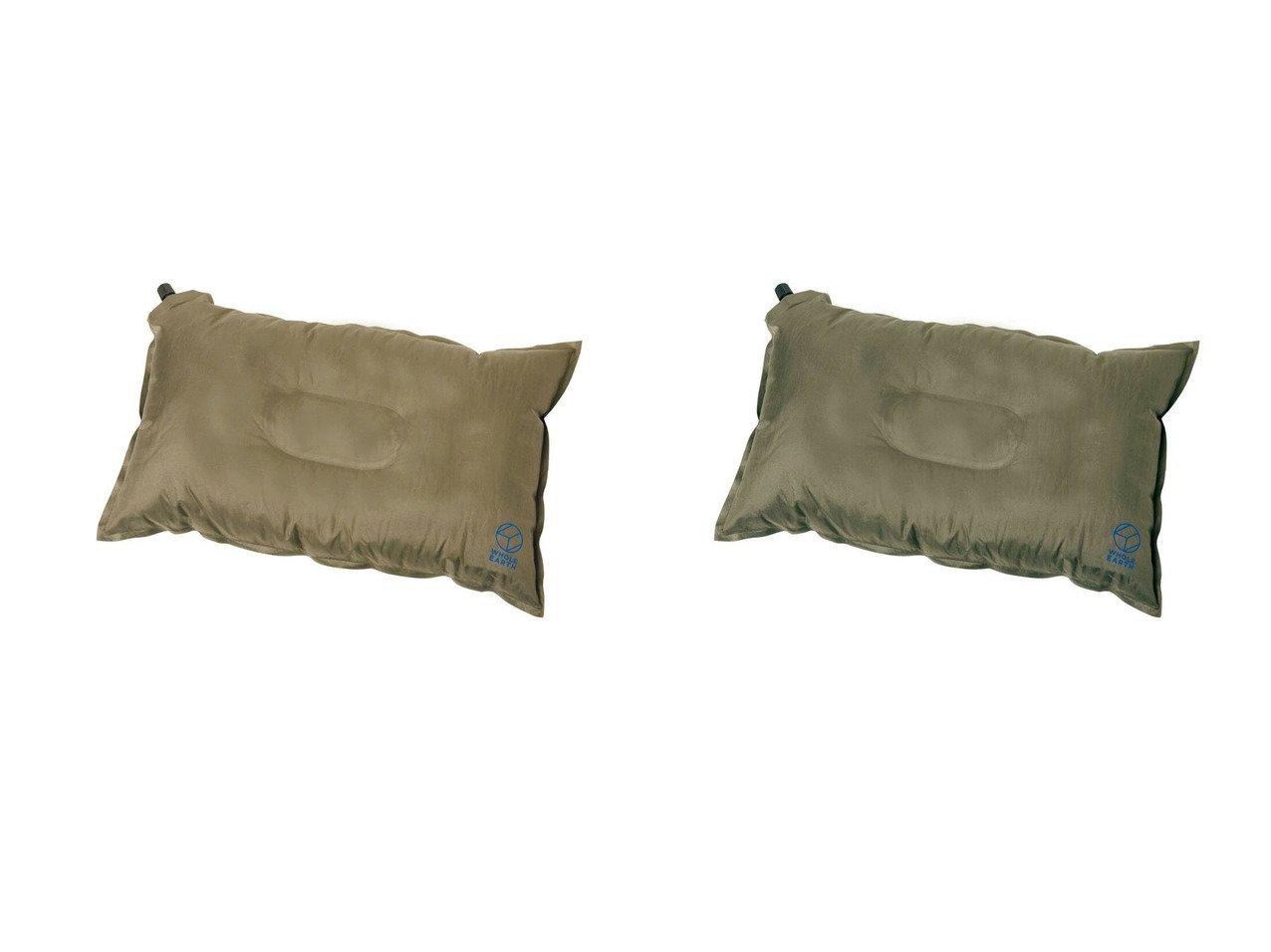 【Whole Earth/ホールアース】の寝袋 シュラフエアーピロー WE23DG56 BEG&寝袋 シュラフエアーピロー WE23DG56 OLIVE おすすめ!人気キャンプ・アウトドア用品の通販 おすすめで人気の流行・トレンド、ファッションの通販商品 メンズファッション・キッズファッション・インテリア・家具・レディースファッション・服の通販 founy(ファニー) https://founy.com/ フォーム S/S・春夏 SS・Spring/Summer フィット 春 Spring ホーム・キャンプ・アウトドア Home,Garden,Outdoor,Camping Gear キャンプ用品・アウトドア  Camping Gear & Outdoor Supplies 寝具 シュラフ 枕 Schlaf, Sleeping bag, Pillow |ID:crp329100000034786