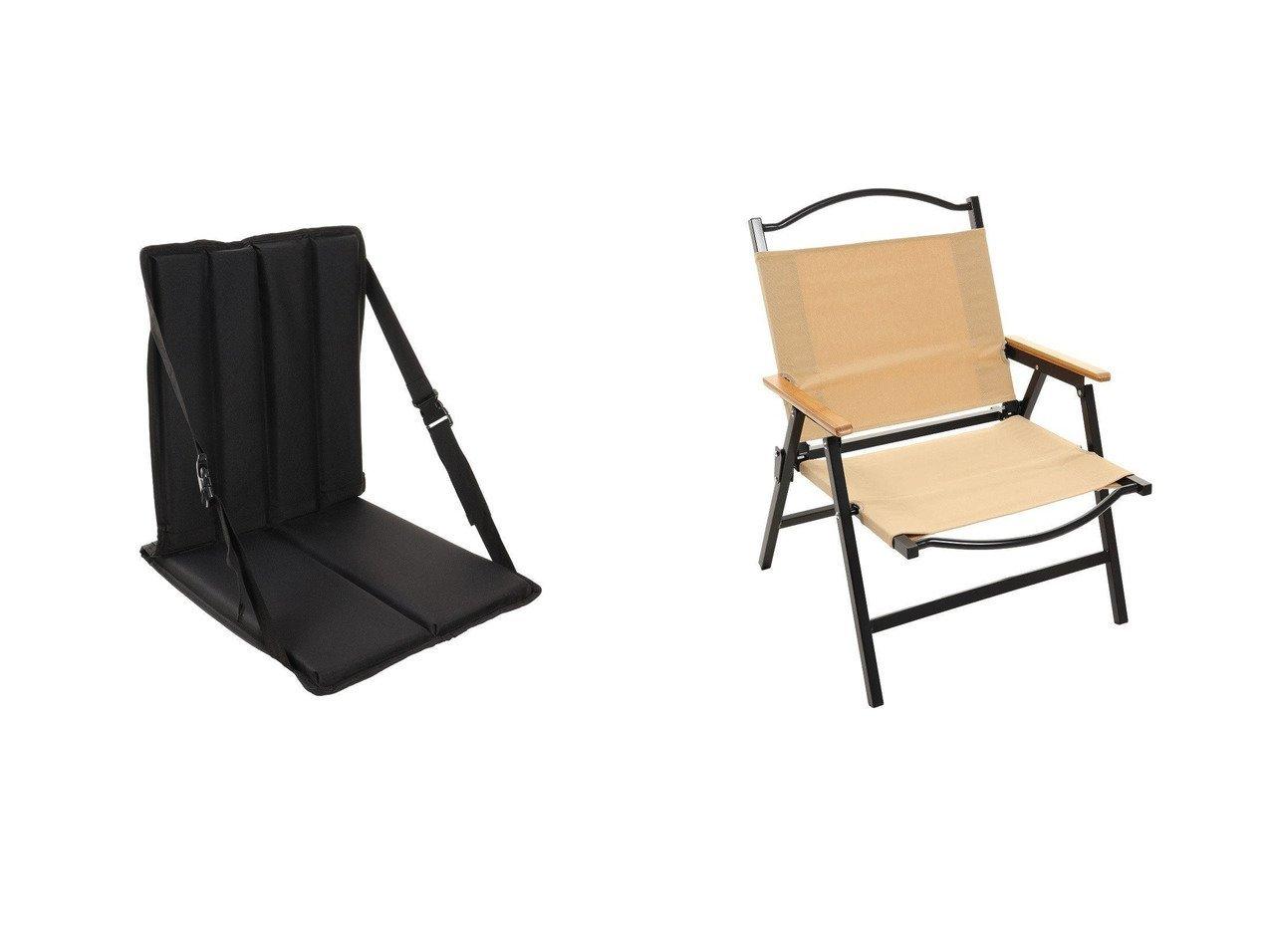 【BUNDOK/バンドック】のロースタイルチェア BD-115BE&【SNOW PEAK/スノーピーク】のグランドパネルチェア LV-115 おすすめ!人気キャンプ・アウトドア用品の通販 おすすめで人気の流行・トレンド、ファッションの通販商品 メンズファッション・キッズファッション・インテリア・家具・レディースファッション・服の通販 founy(ファニー) https://founy.com/ A/W・秋冬 AW・Autumn/Winter・FW・Fall-Winter グラス ホーム・キャンプ・アウトドア Home,Garden,Outdoor,Camping Gear キャンプ用品・アウトドア  Camping Gear & Outdoor Supplies チェア テーブル Camp Chairs, Camping Tables |ID:crp329100000034794