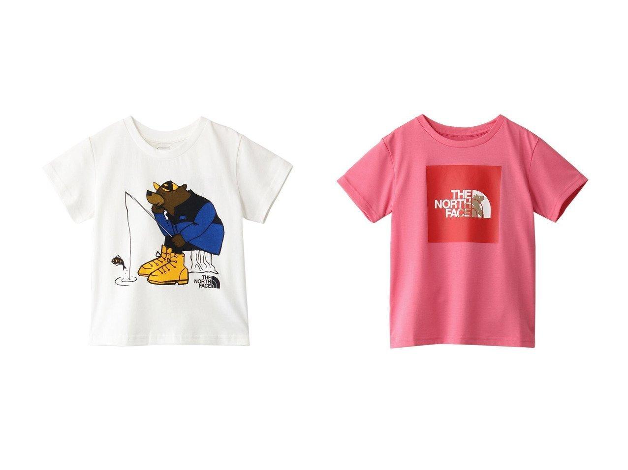 【THE NORTH FACE / KIDS/ザ ノース フェイス】の【KIDS】ショートスリーブグラフィックティー&【KIDS】ショートスリーブシレトコティー 【KIDS】子供服のおすすめ!人気トレンド・キッズファッションの通販  おすすめで人気の流行・トレンド、ファッションの通販商品 メンズファッション・キッズファッション・インテリア・家具・レディースファッション・服の通販 founy(ファニー) https://founy.com/ ファッション Fashion キッズファッション KIDS トップス・カットソー Tops/Tees/Kids アウトドア イラスト キャラクター 半袖 |ID:crp329100000034831
