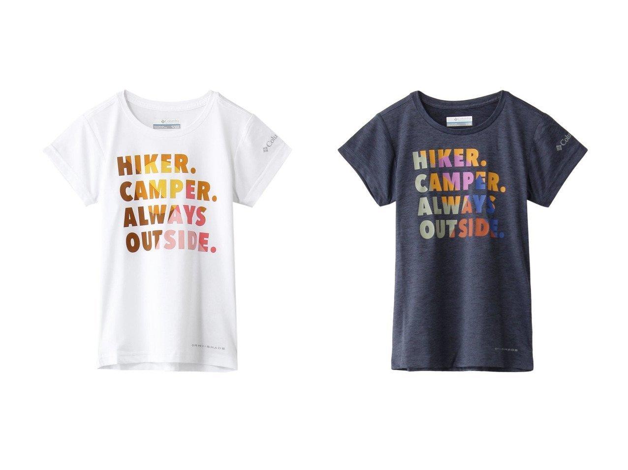 【Columbia / KIDS/コロンビア】の【Kids】サスリッジグラフィックショートスリーブTシャツ 【KIDS】子供服のおすすめ!人気トレンド・キッズファッションの通販  おすすめで人気の流行・トレンド、ファッションの通販商品 メンズファッション・キッズファッション・インテリア・家具・レディースファッション・服の通販 founy(ファニー) https://founy.com/ ファッション Fashion キッズファッション KIDS トップス・カットソー Tops/Tees/Kids S/S・春夏 SS・Spring/Summer カラフル フロント ブロック プリント 吸水 春 Spring |ID:crp329100000034834
