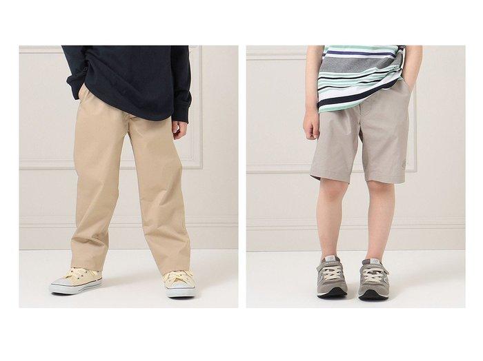 【J.PRESS / KIDS/ジェイ プレス】の【140-170cm】-ツイル フルレングス パンツ&【140-170cm】-ツイル ハーフパンツ 【KIDS】子供服のおすすめ!人気トレンド・キッズファッションの通販  おすすめファッション通販アイテム レディースファッション・服の通販 founy(ファニー) ファッション Fashion キッズファッション KIDS ボトムス Bottoms/Kids 春 Spring シンプル ツイル ポケット 送料無料 Free Shipping |ID:crp329100000034839