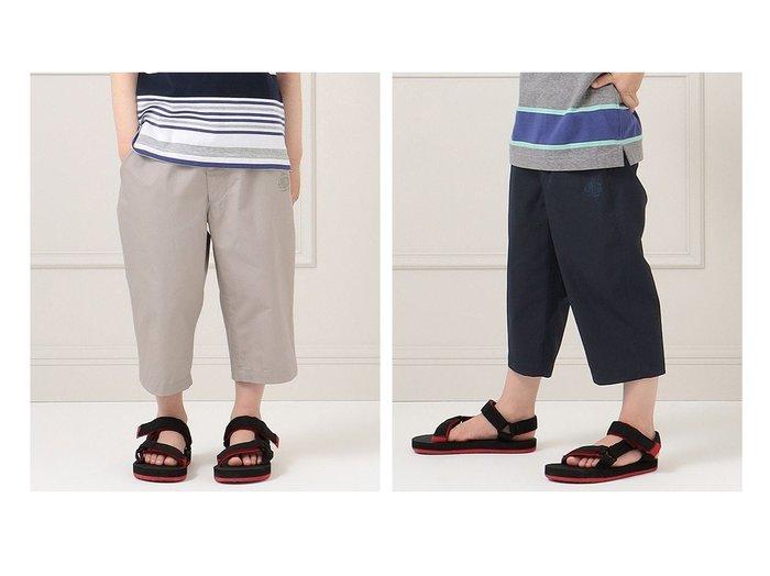 【J.PRESS / KIDS/ジェイ プレス】の【140-170cm】-ツイル 7分丈 パンツ 【KIDS】子供服のおすすめ!人気トレンド・キッズファッションの通販  おすすめ人気トレンドファッション通販アイテム 人気、トレンドファッション・服の通販 founy(ファニー) ファッション Fashion キッズファッション KIDS ボトムス Bottoms/Kids 春 Spring シンプル ツイル ポケット 送料無料 Free Shipping |ID:crp329100000034844