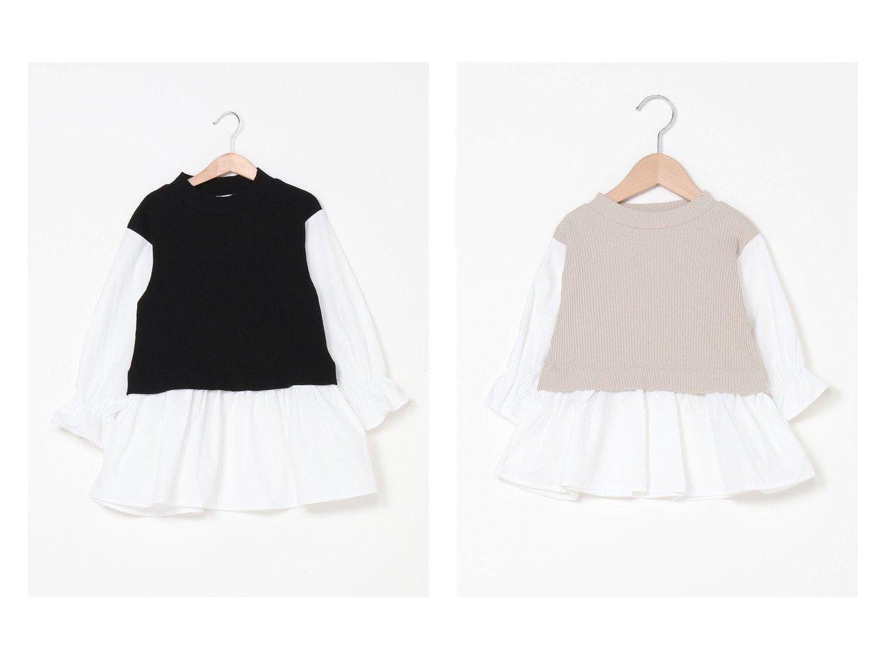 【GLOBAL WORK / KIDS/グローバルワーク】のオシャラク/ドッキングPO 【KIDS】子供服のおすすめ!人気トレンド・キッズファッションの通販  おすすめで人気の流行・トレンド、ファッションの通販商品 メンズファッション・キッズファッション・インテリア・家具・レディースファッション・服の通販 founy(ファニー) https://founy.com/ ファッション Fashion キッズファッション KIDS トップス・カットソー Tops/Tees/Kids おすすめ Recommend カットソー ドッキング ベーシック ロング |ID:crp329100000034862