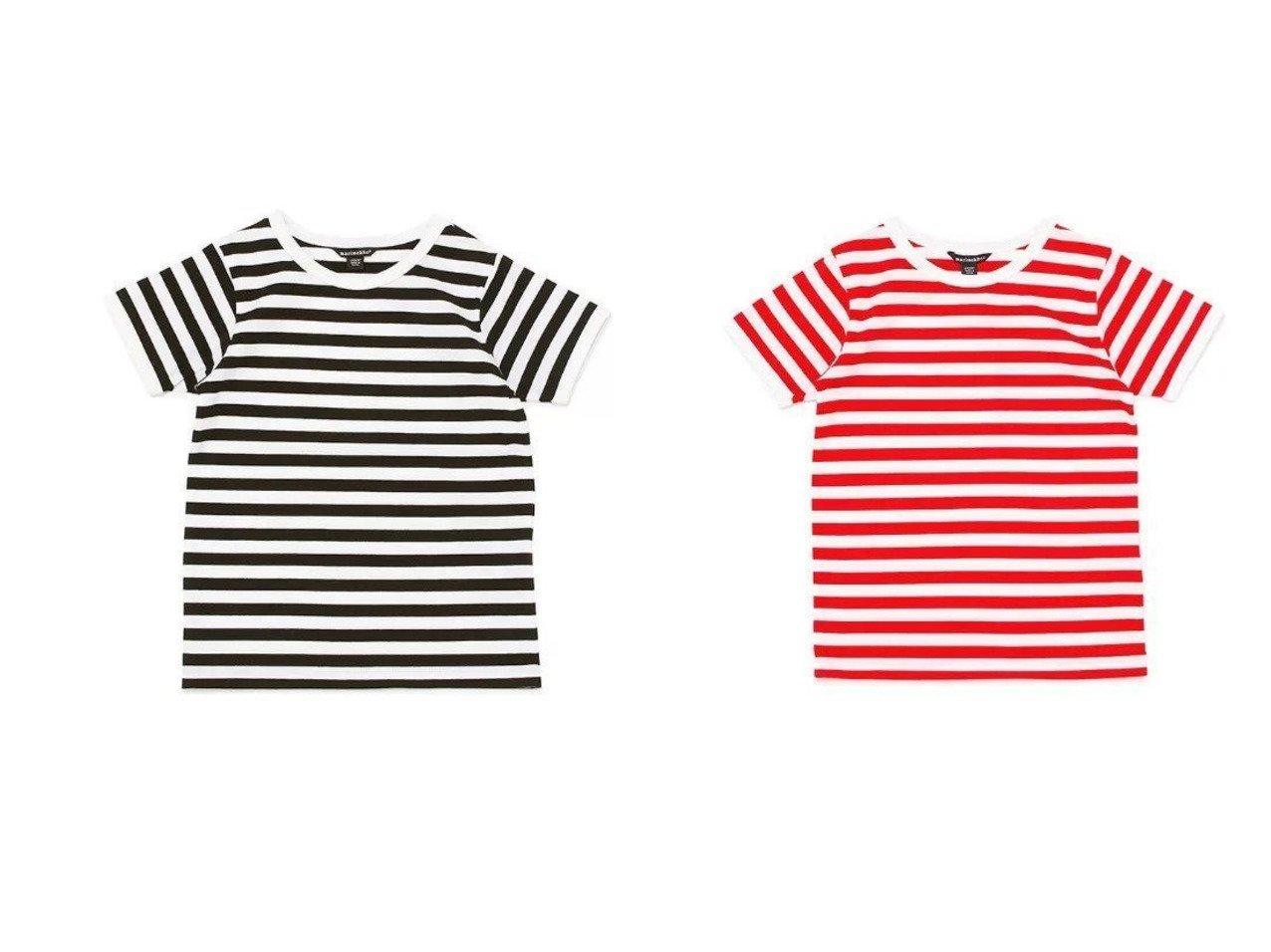 【marimekko / KIDS/マリメッコ】のKids Tasaraita カットソー 【KIDS】子供服のおすすめ!人気トレンド・キッズファッションの通販  おすすめで人気の流行・トレンド、ファッションの通販商品 メンズファッション・キッズファッション・インテリア・家具・レディースファッション・服の通販 founy(ファニー) https://founy.com/ ファッション Fashion キッズファッション KIDS トップス・カットソー Tops/Tees/Kids カットソー ベビー 人気 定番 Standard |ID:crp329100000034867