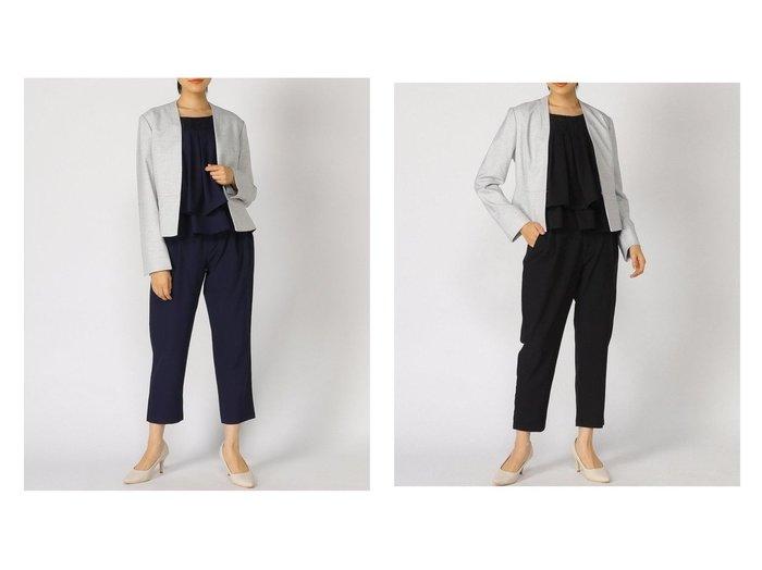 【SMILE ORCHID/スマイルオーキッド】のパンツタイプ セレモニースーツ 3点セット 【パンツ】おすすめ!人気、トレンド・レディースファッションの通販 おすすめ人気トレンドファッション通販アイテム 人気、トレンドファッション・服の通販 founy(ファニー) ファッション Fashion レディースファッション WOMEN セットアップ Setup パンツ Pants スーツ Suits スーツパンツ Pantsuit スーツセット Suit Sets シフォン シンプル ジャケット スリット スリーブ スーツ セットアップ ツイード トレンド フェミニン フォーマル プリーツ ペプラム ポケット |ID:crp329100000034920