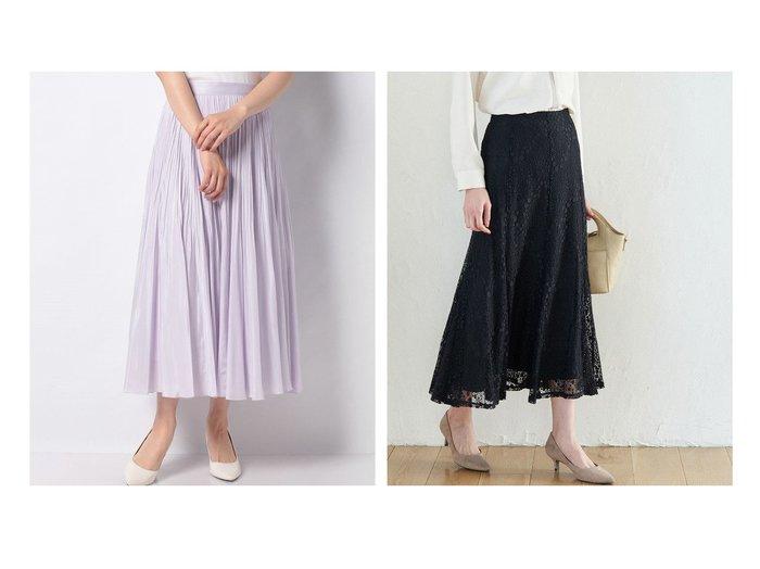【ANAYI/アナイ】のライトローンサーキュラーフレアスカート&【ROPE' PICNIC/ロペピクニック】のレースマーメイドスカート 【スカート】おすすめ!人気、トレンド・レディースファッションの通販 おすすめファッション通販アイテム レディースファッション・服の通販 founy(ファニー) ファッション Fashion レディースファッション WOMEN スカート Skirt Aライン/フレアスカート Flared A-Line Skirts インナー 春 Spring 秋 Autumn/Fall カットソー スウェット スニーカー フィット フェミニン フレア ポケット マーメイド ミックス レース ロング 再入荷 Restock/Back in Stock/Re Arrival おすすめ Recommend S/S・春夏 SS・Spring/Summer エアリー ギャザー サマー サンダル シンプル ジャケット ワーク 無地 |ID:crp329100000034945