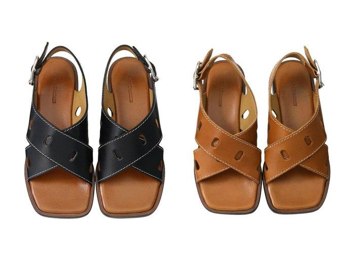 【J&M DAVIDSON/ジェイアンドエム デヴィッドソン】のクロスベルトフラットサンダル 【シューズ・靴】おすすめ!人気、トレンド・レディースファッションの通販 おすすめファッション通販アイテム レディースファッション・服の通販 founy(ファニー) ファッション Fashion レディースファッション WOMEN ベルト Belts サンダル |ID:crp329100000034958