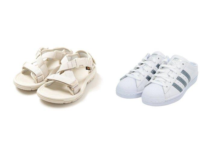 【adidas Originals/アディダス オリジナルス】のSS ミュール SS Mules アディダスオリジナルス&【emmi/エミ】の【Tevaemmi】HURRICANE VERGE 【シューズ・靴】おすすめ!人気、トレンド・レディースファッションの通販 おすすめファッション通販アイテム レディースファッション・服の通販 founy(ファニー) ファッション Fashion レディースファッション WOMEN S/S・春夏 SS・Spring/Summer グリッター シューズ スニーカー スリッポン ミュール モダン レース クッション サンダル 別注 抗菌 |ID:crp329100000034969