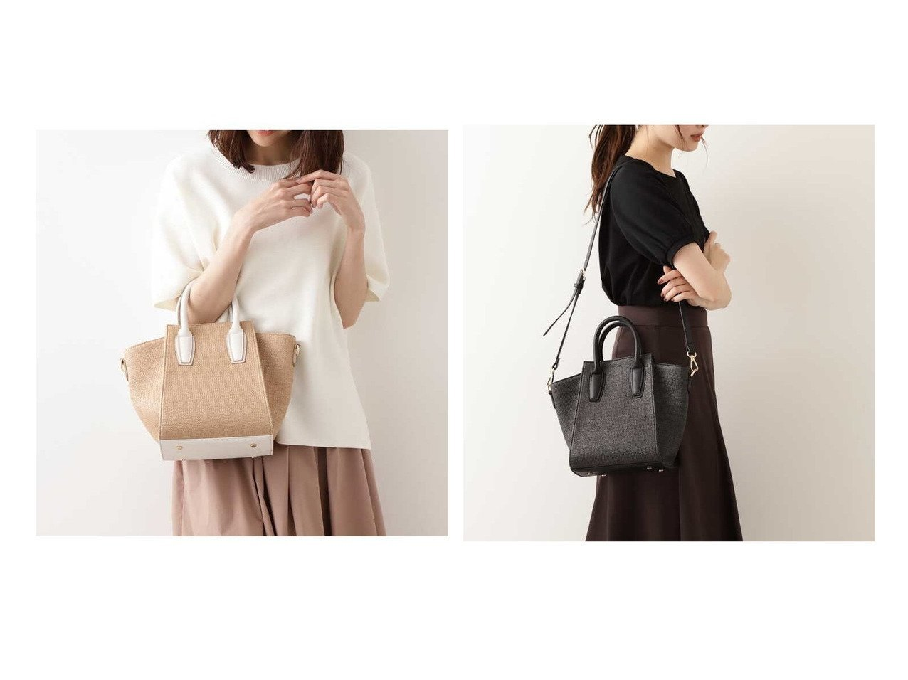 【NATURAL BEAUTY BASIC/ナチュラル ビューティー ベーシック】のスクエアステッチトート 【バッグ・鞄】おすすめ!人気、トレンド・レディースファッションの通販 おすすめで人気の流行・トレンド、ファッションの通販商品 メンズファッション・キッズファッション・インテリア・家具・レディースファッション・服の通販 founy(ファニー) https://founy.com/ ファッション Fashion レディースファッション WOMEN バッグ Bag おすすめ Recommend 人気 |ID:crp329100000034981