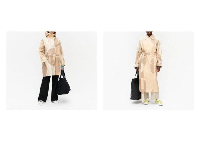 【marimekko/マリメッコ】のKantakulma Seireeni コート&Taipuisa Seireeni コート 【アウター】おすすめ!人気、トレンド・レディースファッションの通販 おすすめファッション通販アイテム レディースファッション・服の通販 founy(ファニー)  ファッション Fashion レディースファッション WOMEN アウター Coat Outerwear コート Coats トレンチコート Trench Coats スタイリッシュ パターン フロント ロング フラップ ポケット |ID:crp329100000034998